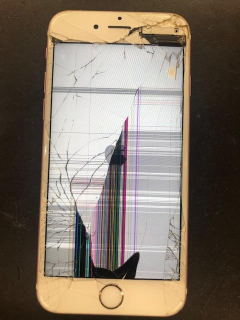 画面修理前のiPhone6s