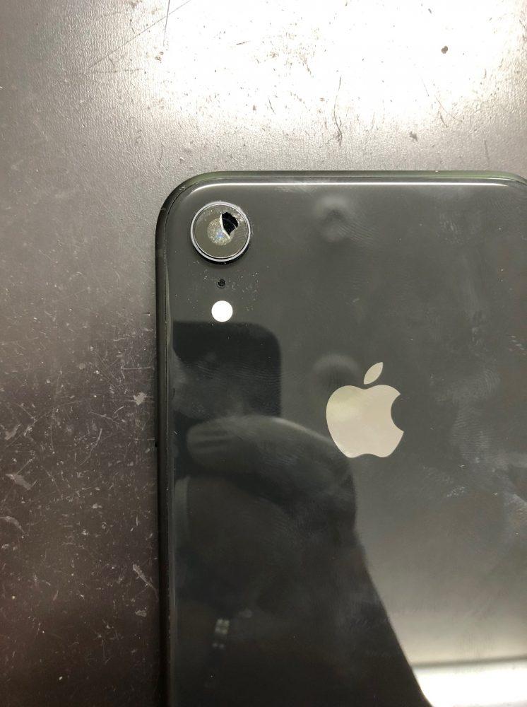 iPhoneXRカメラレンズ