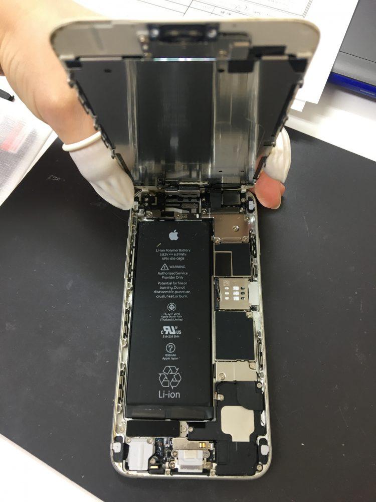 iPhone6画面修理分解