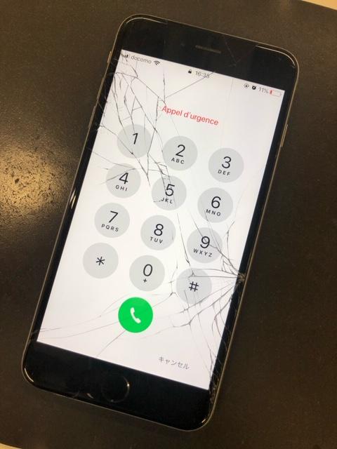 iPhone修理前のiPhone6s