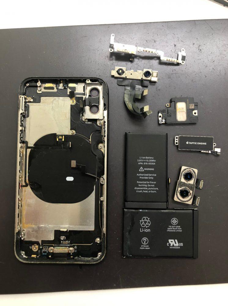 iPhoneX 内部