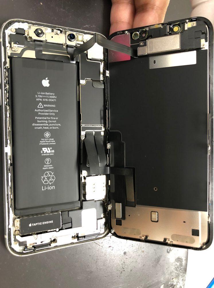 iPhoneXRバッテリー