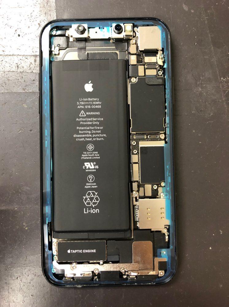 iPhoneXR 耐水シール