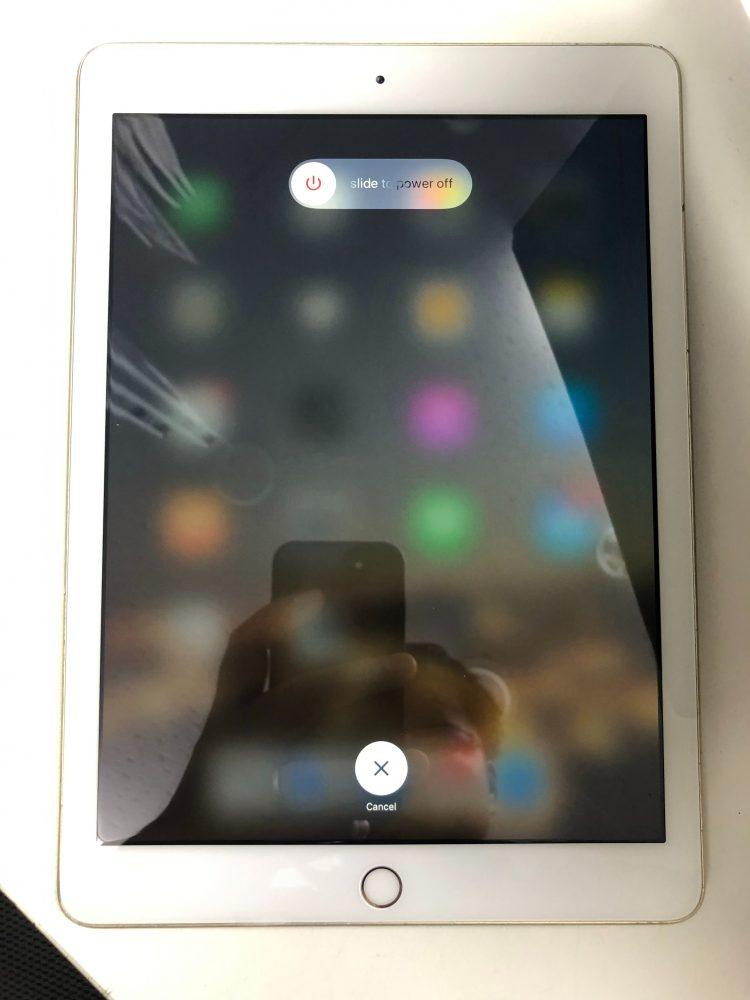 iPad5ガラス修理後