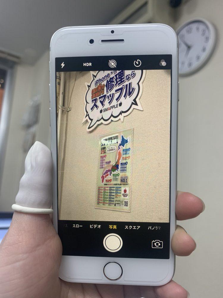 iPhone7バックカメラ修理後