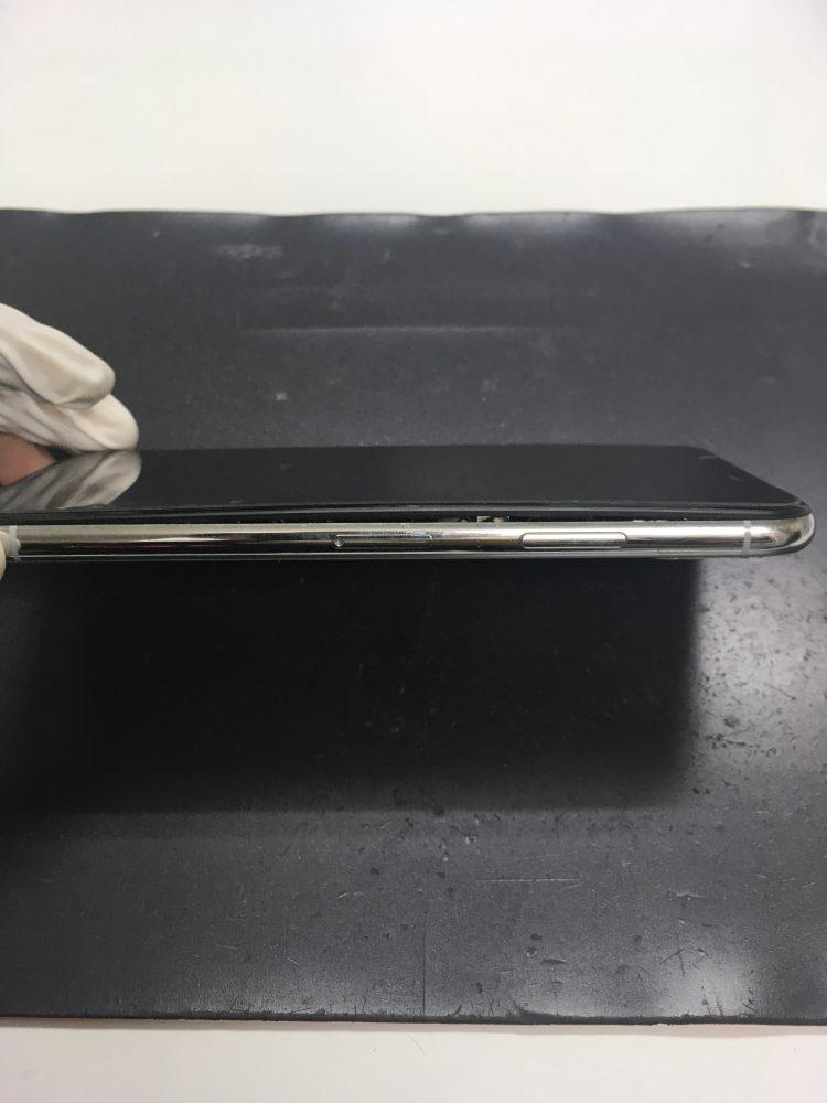 iPhoneX バッテリー 画面浮き