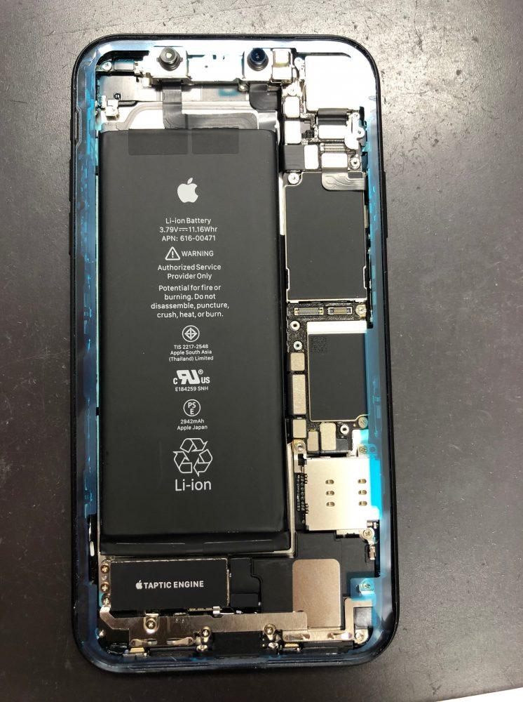 iPhoneXR 耐水