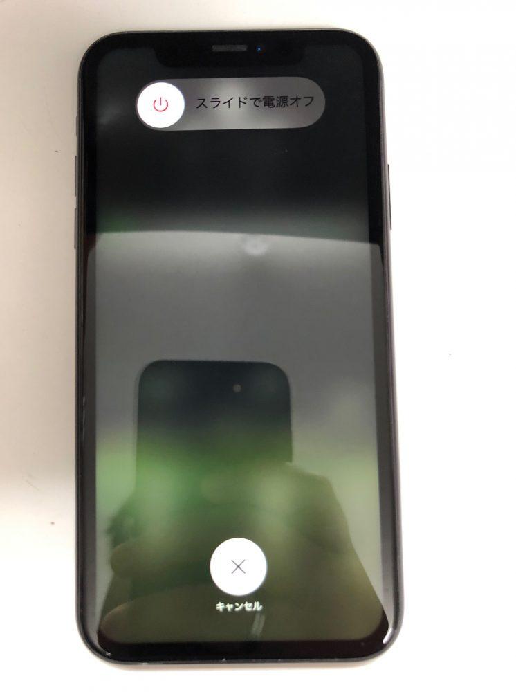 iPhoneXR 画面修理後