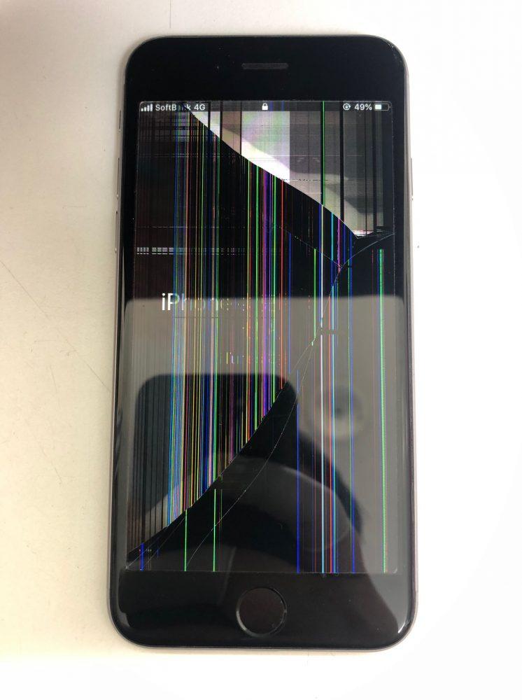 iPhone6s 画面割れ 修理