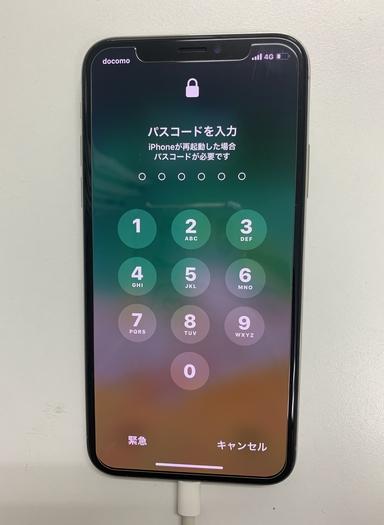 修理前 iPhoneX