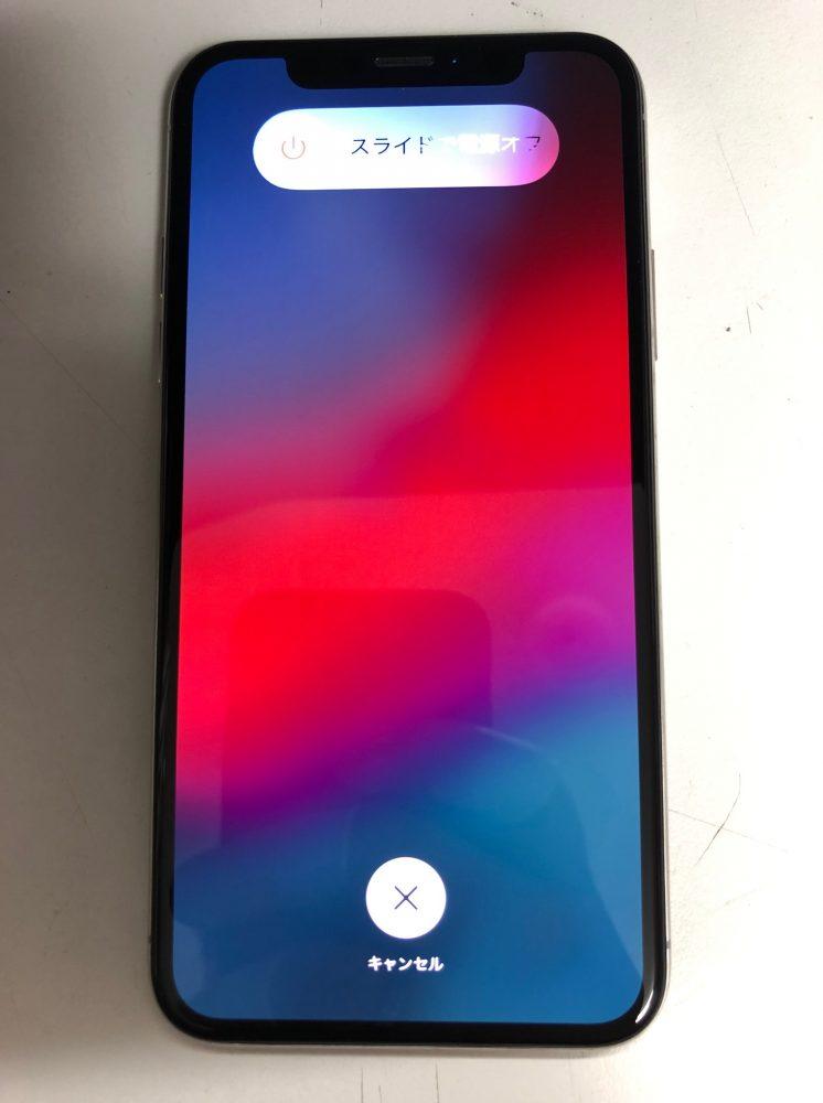 iPhoneX 画面交換 修理後