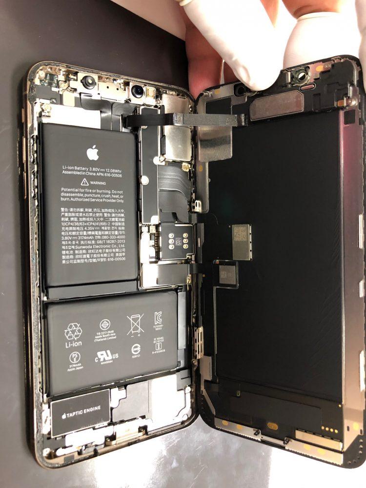 iPhoneXSMAX 修理 札幌