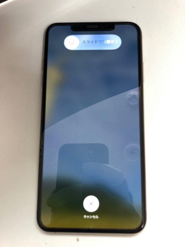 iPhoneXSMAX 画面割れ修理後