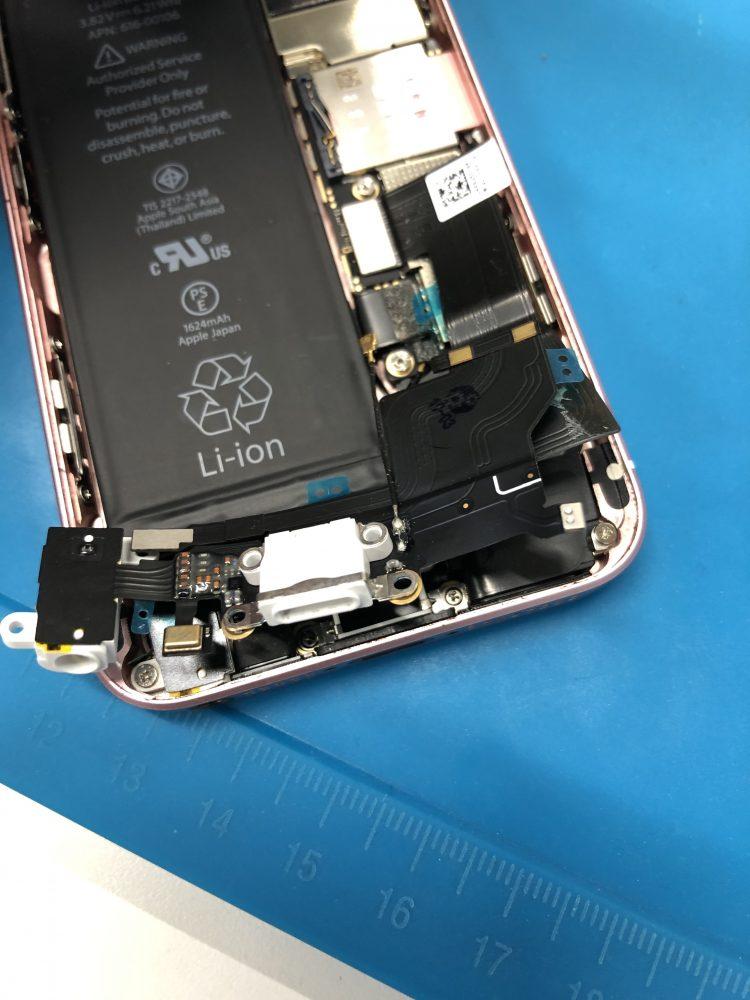 iPhoneSE ドックコネクター