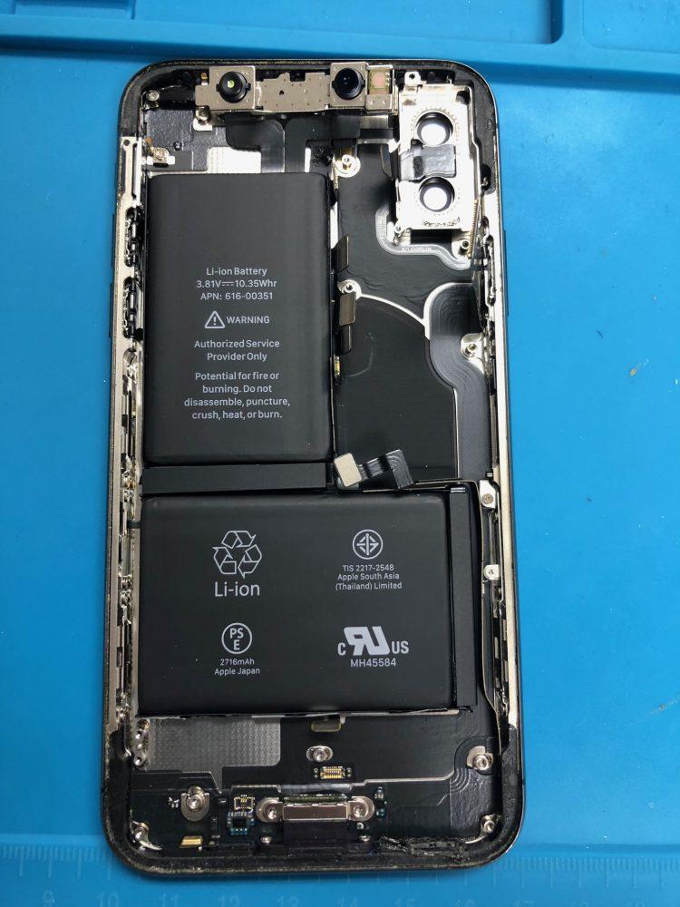 iPhoneX 修理 札幌