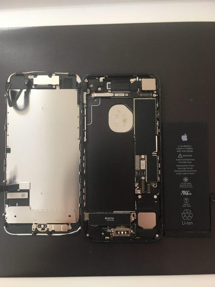 iPhone7 バッテリー交換 画面修理 画面交換