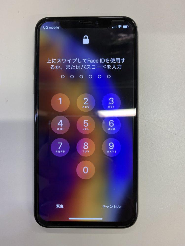 iPhoneXs修理後