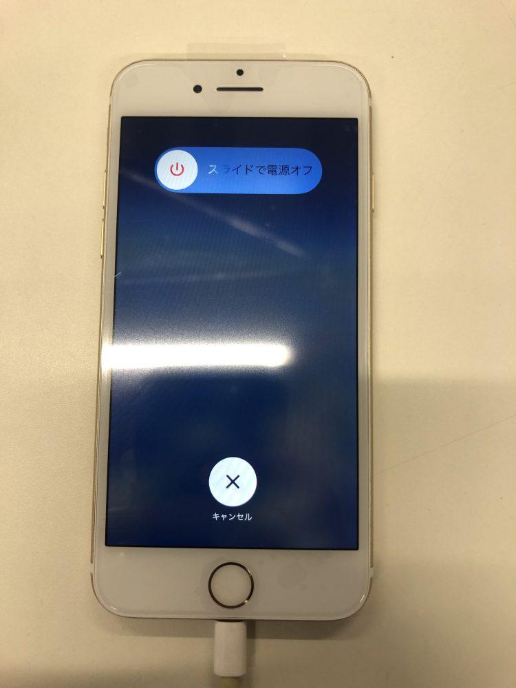 iPhone8 画面割れ 修理後