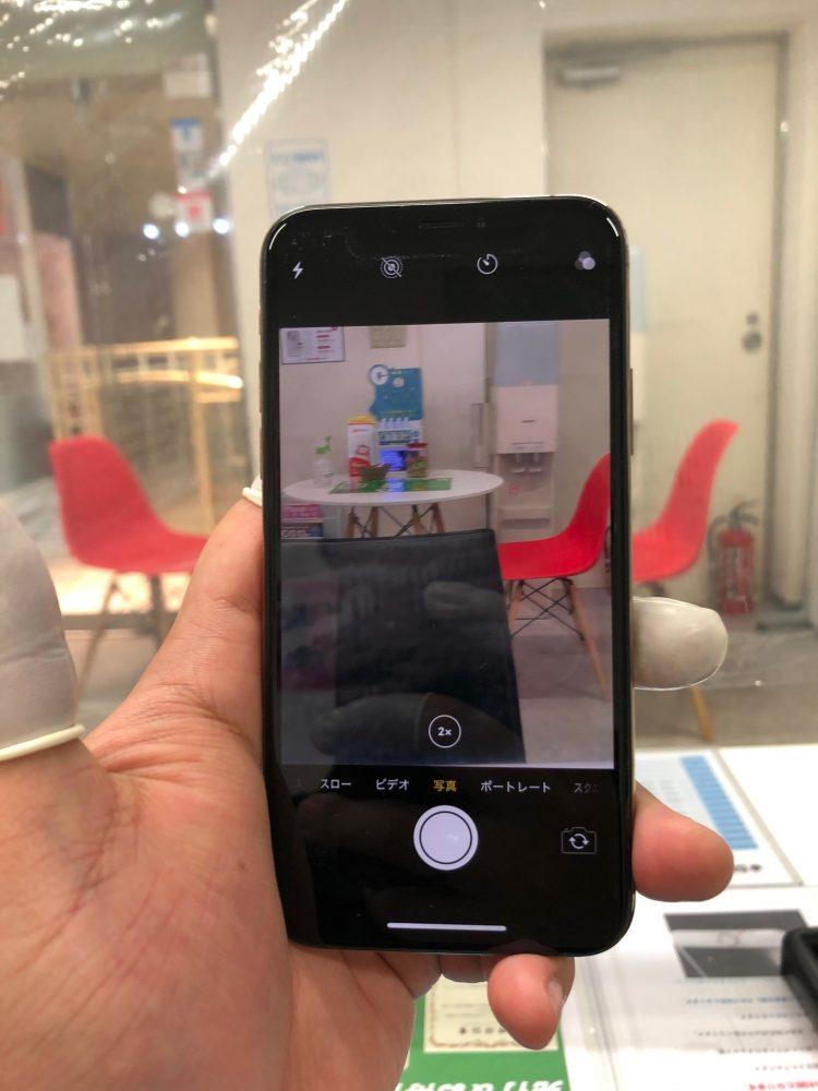 iPhoneXS バックカメラ 修理後