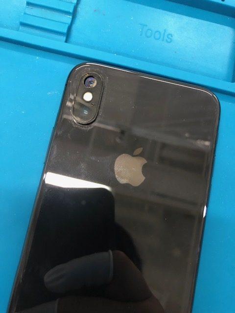 iPhoneX カメラレンズ 修理