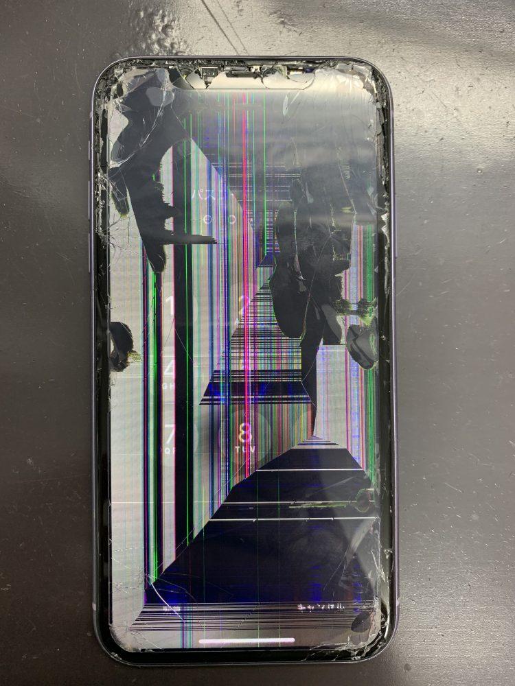 iPhone11修理前