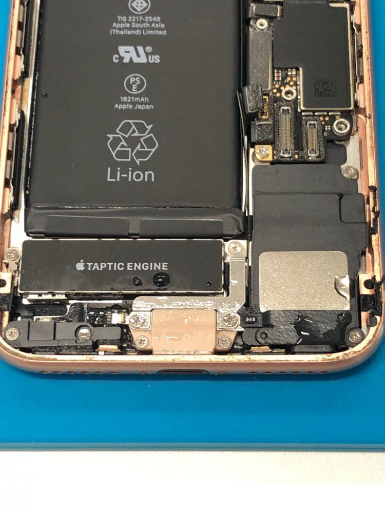 アイフォン8 水没