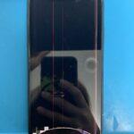 iPhoneXRの画面が液漏れでうつらなくなった!スマップル札幌駅店で即日修理が可能です!